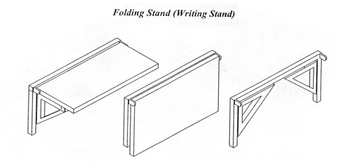 Folding Stand Visual Inspection Table