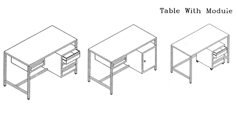 Visual Inspection Table With Moudui